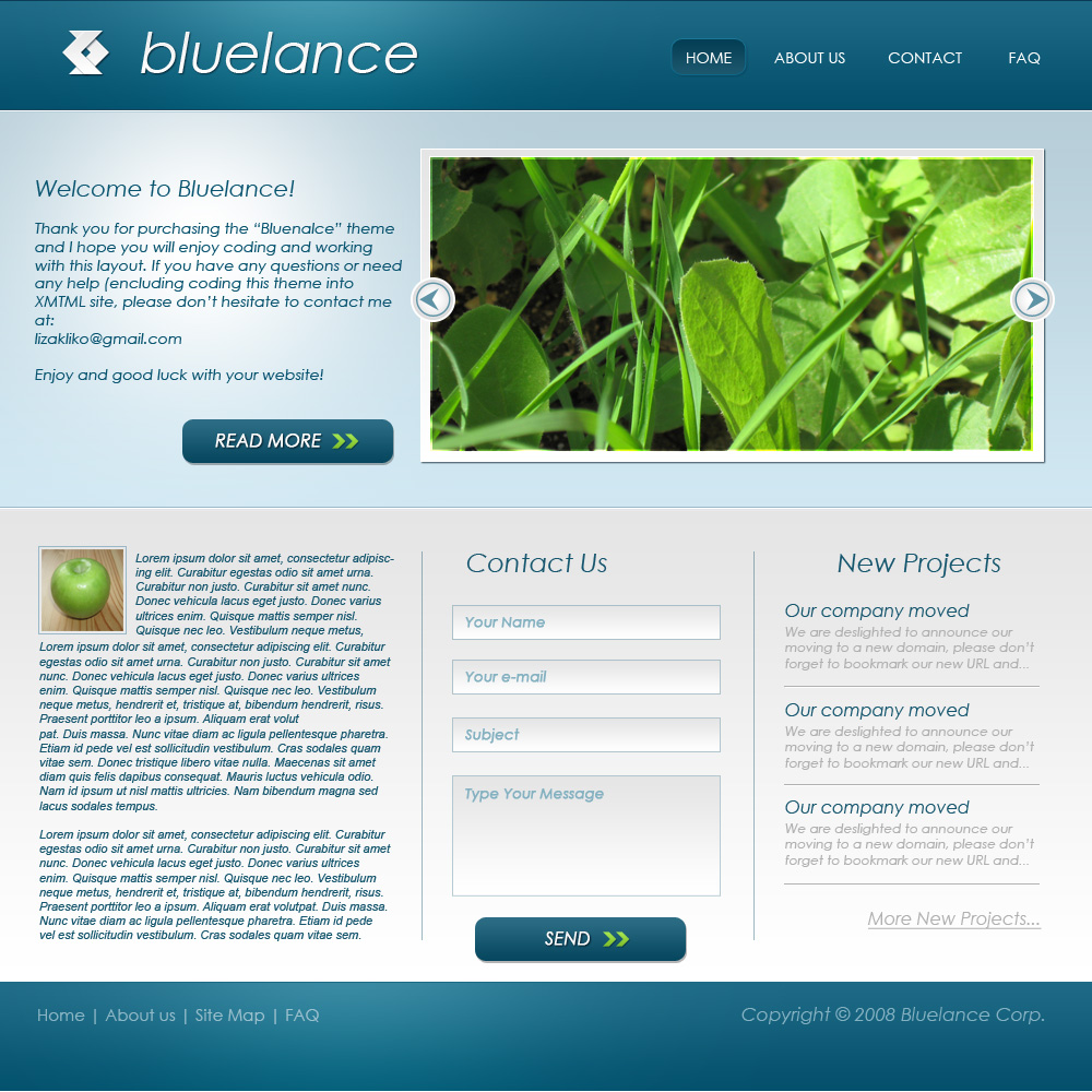 Free Download Bluelance - 2 in 1 Nulled Latest Version