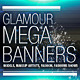 Glamour, Fashion Web Banners & Advertising Kit