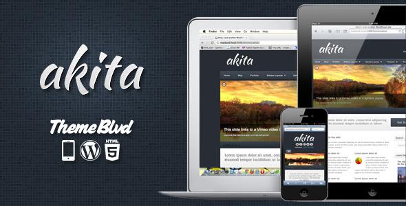 Free Download Akita Responsive WordPress Theme Nulled Latest Version