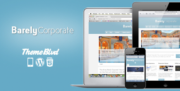 Free Download Barely Corporate Responsive WordPress Theme Nulled Latest Version