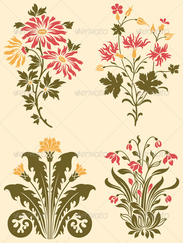 Decorative Wildflowers - Flowers & Plants Nature