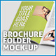 Brochure / Folder Mock-up 2 - GraphicRiver Item for Sale