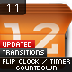 Flip Clock / Countdown Timer - Transitions - GraphicRiver Item for Sale