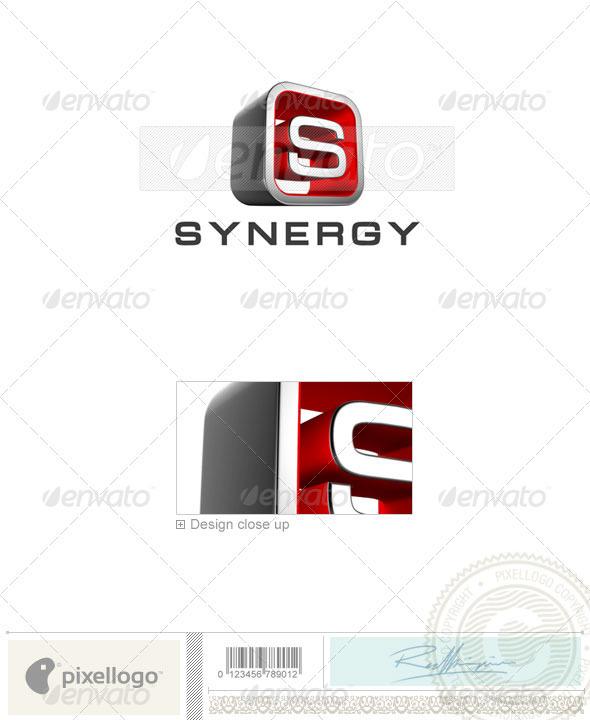 Letter S Logo 3D-738 - Letters Logo Templates