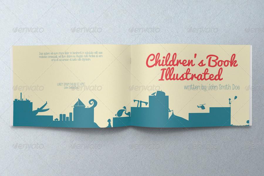 Children\'s Book Illustrated by crew55design   GraphicRiver
