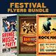 Festival or Concert Flyers Bundle - GraphicRiver Item for Sale