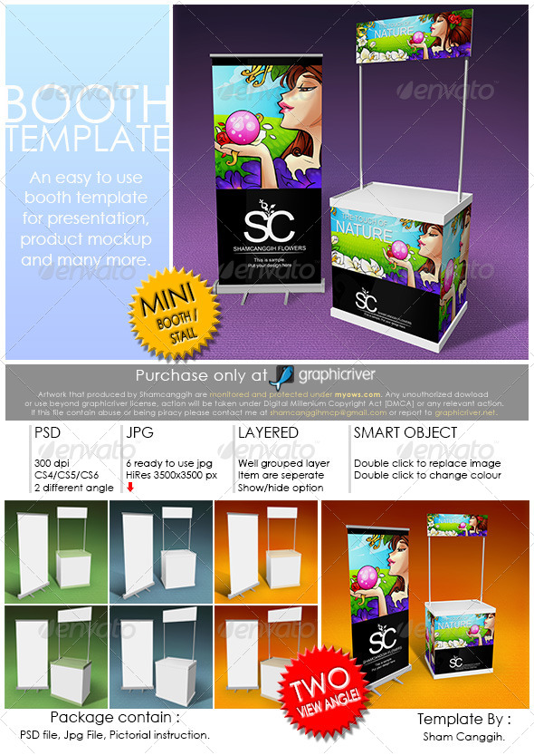 Booth Template Part 3 - Print Product Mock-Ups