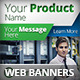 Multipurpose Product Promotion Web Banners - GraphicRiver Item for Sale
