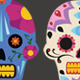 Sugar Skulls - GraphicRiver Item for Sale