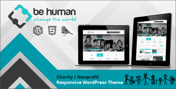 Be Human – Charity Multipurpose WP Retina Theme