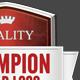 Shield Crest Badge Logo - GraphicRiver Item for Sale