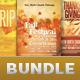 Church Marketing Flyer Template Bundle Vol 046 - GraphicRiver Item for Sale