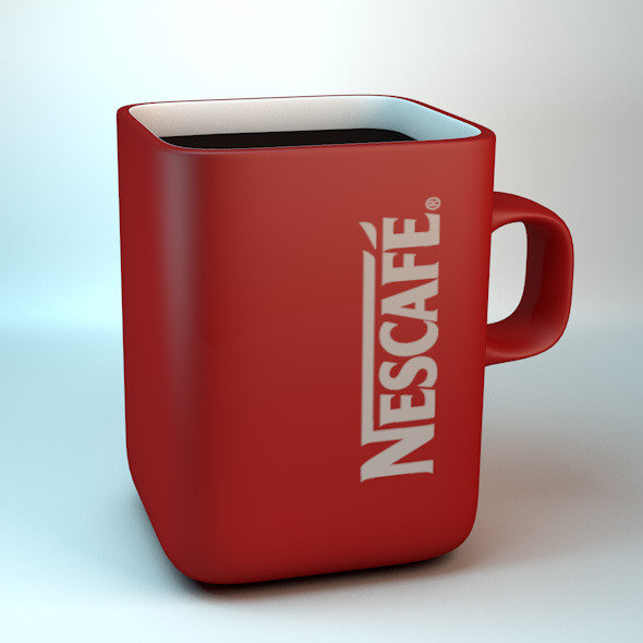 Nescafe Cup - 3DOcean Item for Sale