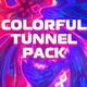 Colorful Tunnel Pack - VideoHive Item for Sale