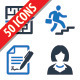 Business Icons - Blue Series - GraphicRiver Item for Sale