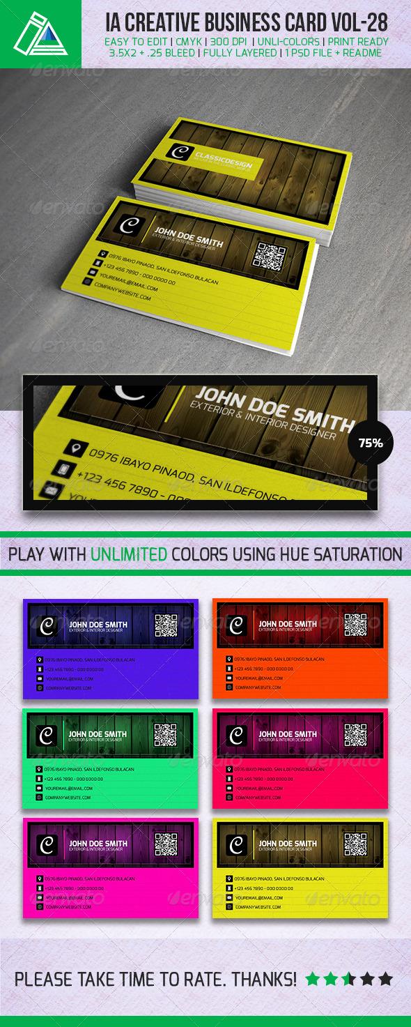 IntenseArtisan Business Card Vol.29 - Creative Business Cards