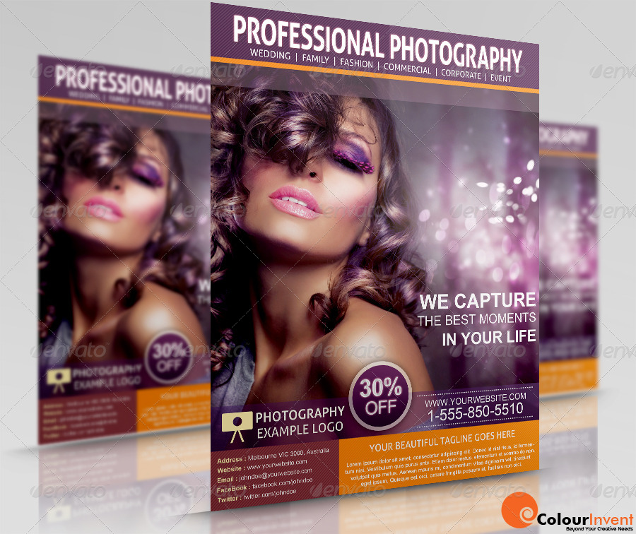 Photography Flyer By Kushalitha | Graphicriver