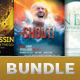 Church Marketing Flyer Template Bundle Vol 052 - GraphicRiver Item for Sale