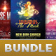 Church Marketing Flyer Template Bundle Vol 055 - GraphicRiver Item for Sale
