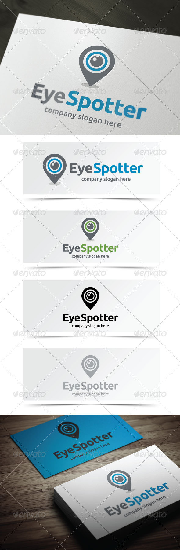 Eye Spotter - Objects Logo Templates