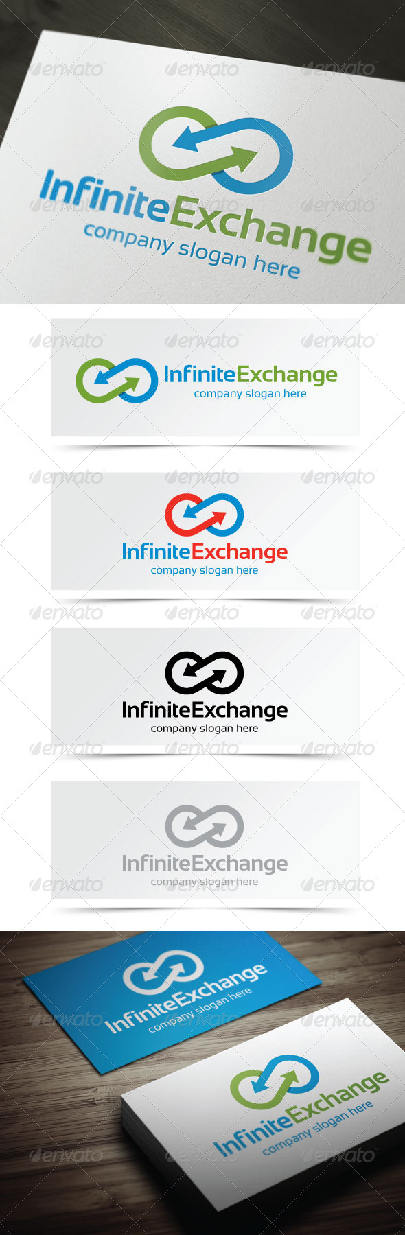 Infinite Exchange - Abstract Logo Templates