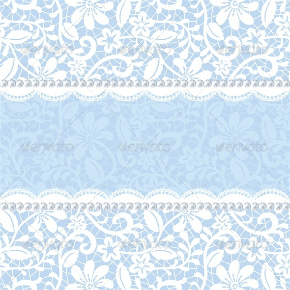 pearl frame and lace background by prikhnenko graphicriver