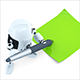 3D Robot writing notes - GraphicRiver Item for Sale