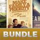 Church Marketing Flyer Template  Bundle Vol 058 - GraphicRiver Item for Sale