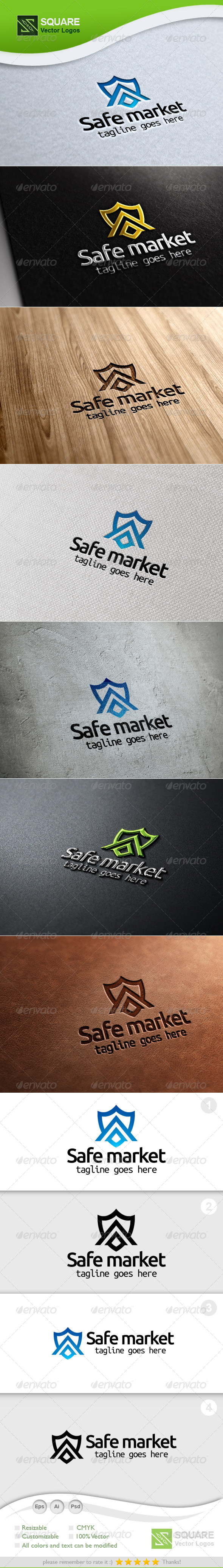 Shield, Market Vector Logo Template - Symbols Logo Templates