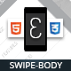 Swipebody Mobile | Mobile Template - ThemeForest Item for Sale