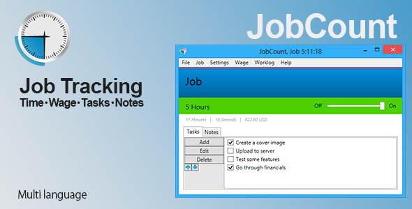 JobCount - CodeCanyon Item for Sale