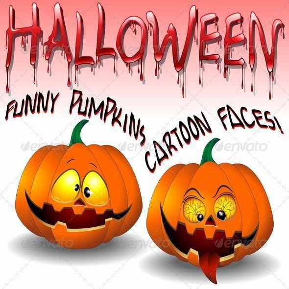 Halloween Pumpkins Cartoon - Halloween Seasons/Holidays