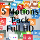 Social Icons Motion Pack - VideoHive Item for Sale