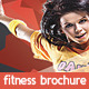 Fitness Brochure 3-Fold - GraphicRiver Item for Sale