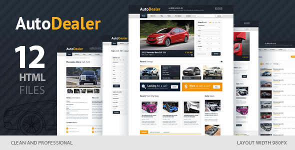 Auto Dealer - Car Dealer HTML Template by winterjuice | ThemeForest