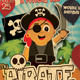 Pirate Kids Party Flyer Template - GraphicRiver Item for Sale