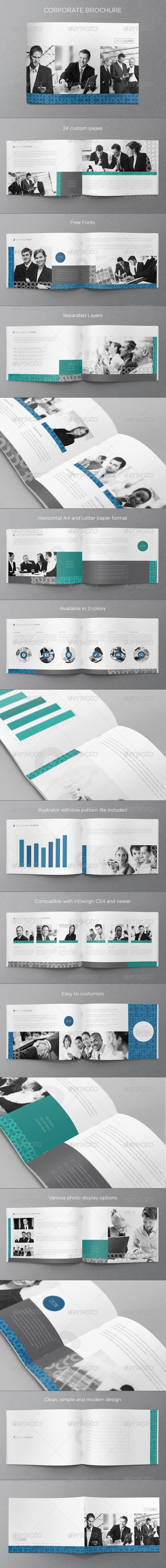 Corporate Business Brochure 2 - Brochures Print Templates