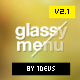 Narsis CSS3 Glassy Menu - CodeCanyon Item for Sale