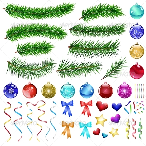 Christmas Design Elements - Christmas Seasons/Holidays