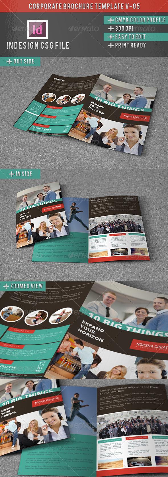Corporate BiFold Brochure V-05 - Corporate Brochures
