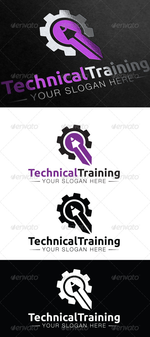 Technical Training Logo - Symbols Logo Templates