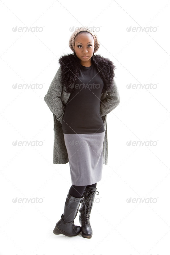 Winter fashion - Stock Photo - Images