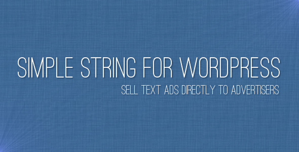 Simple String - CodeCanyon Item for Sale