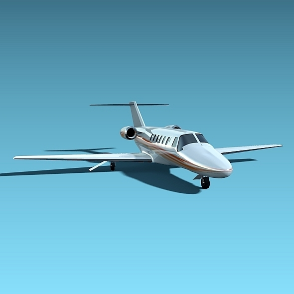 Cessna Citation cj2 Business Jet - 3DOcean Item for Sale
