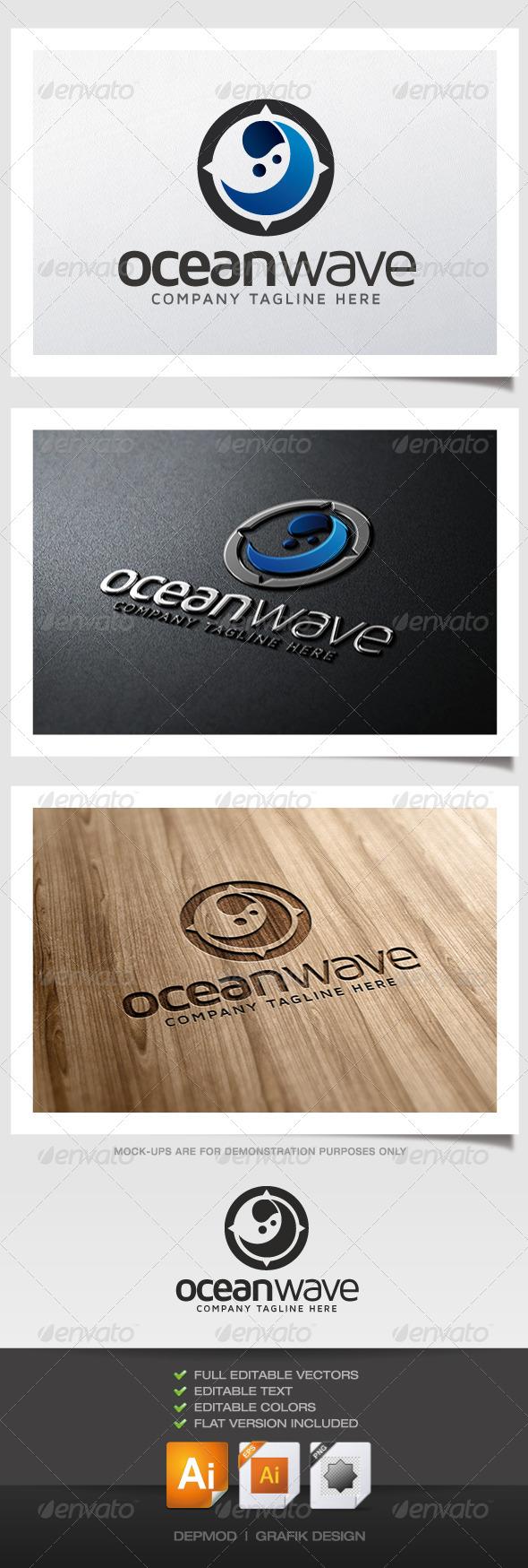 Ocean Wave Logo - Symbols Logo Templates