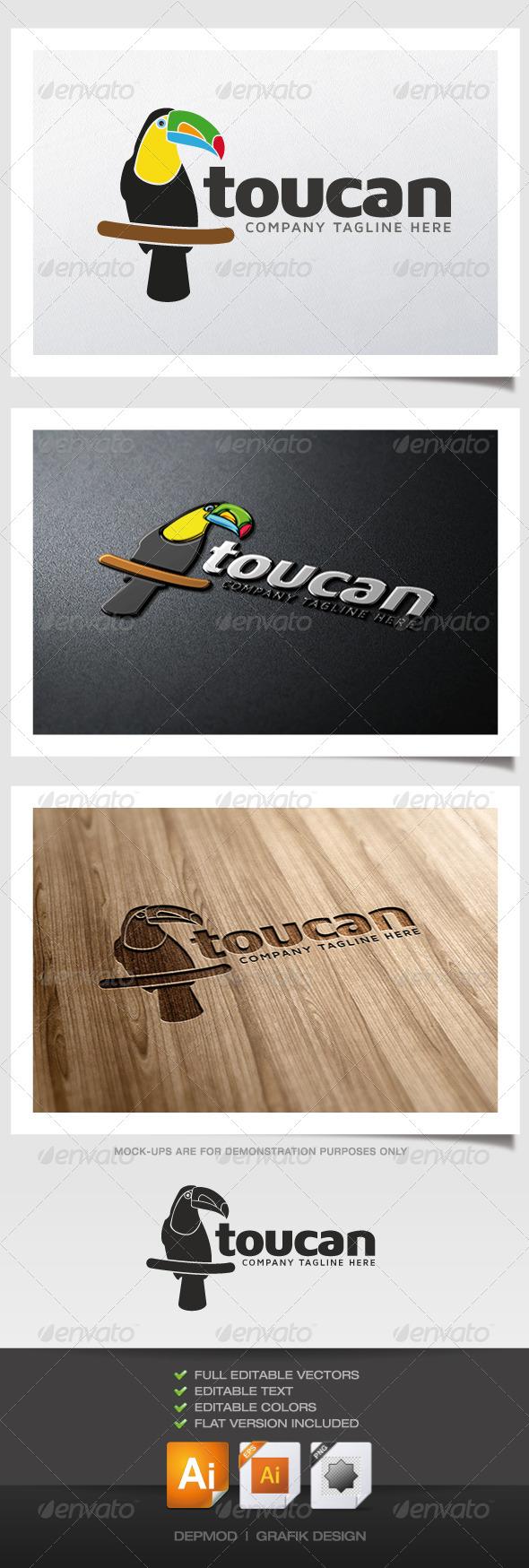 Toucan Logo - Animals Logo Templates
