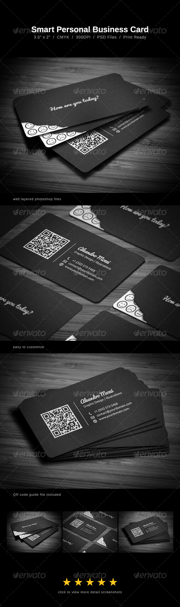 Smart Business Card - Creative Business Cards