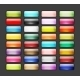 Set of 32 Glossy Button Icons for Web Design - GraphicRiver Item for Sale