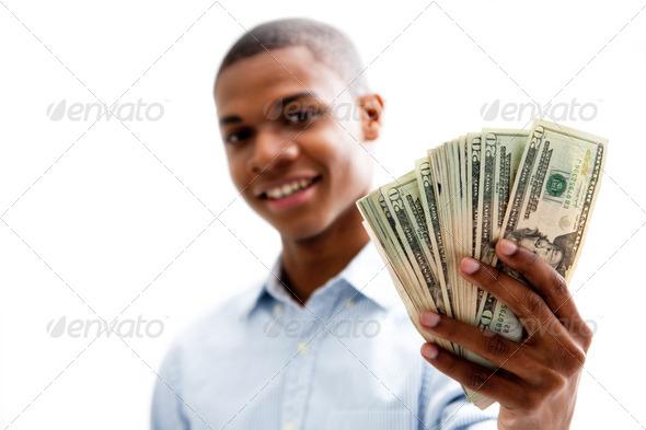 Happy money - Stock Photo - Images