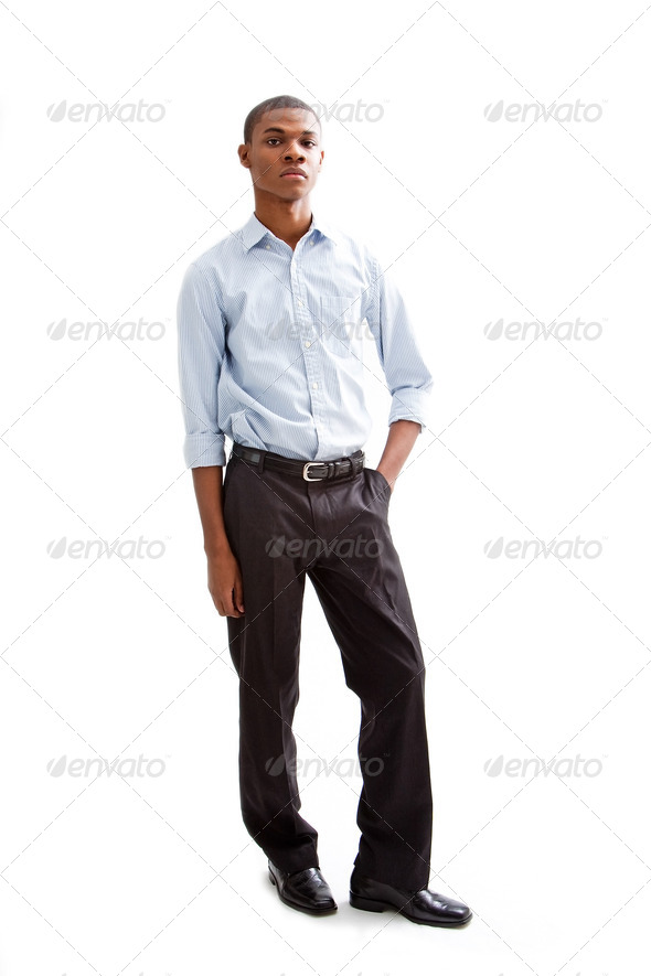 Young business man - Stock Photo - Images